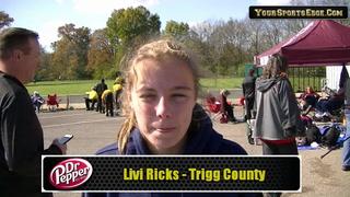 Ricks Runs in Fifth State Meet