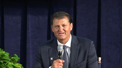 Trevor Hoffman on emotions of his speech & Padres fans