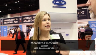 Carrier boosts ductless HVAC system efficiency