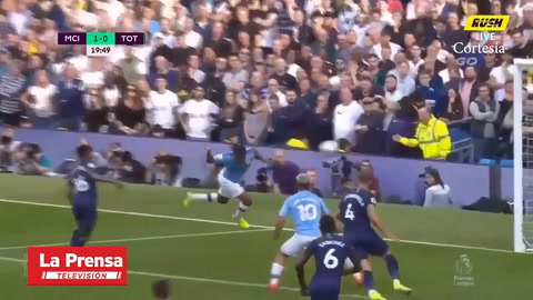 Manchester City 2-2 Tottenham (Premier League)