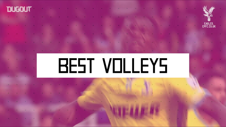 Best Volleys: Wilfried Zaha Vs Newcastle United