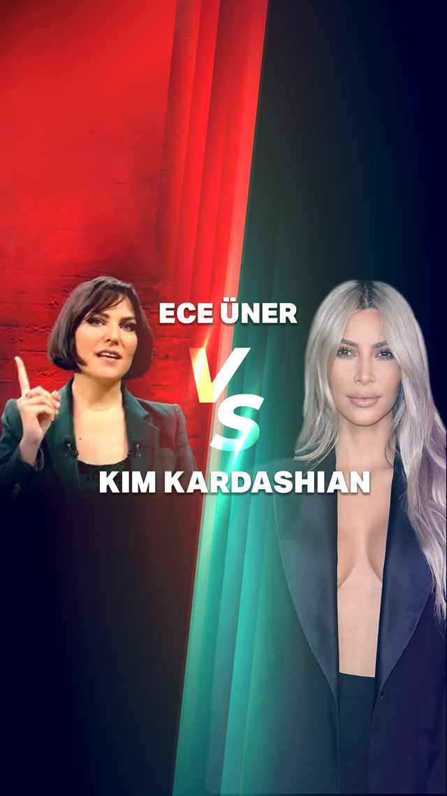 Kim Kardashian vs Ece Üner #trendtopic