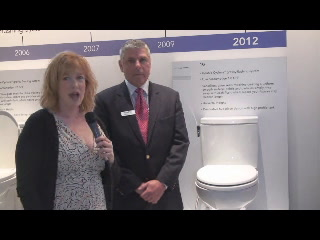 KBIS: Toto 1G low-flush toilet