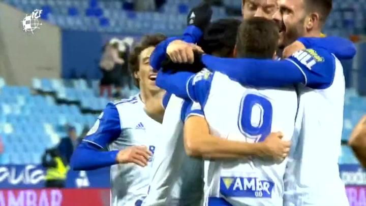 El resumen del Real Zaragoza - RCD Mallorca (3-1) de dieciseisavos de Copa