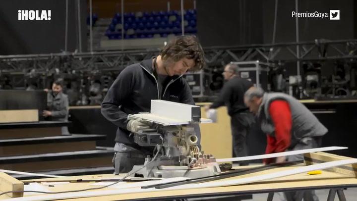¡Manos a la obra! Así se preparan en Málaga para los premios Goya