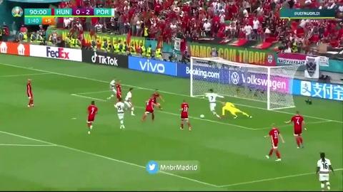 Cristiano rompió el récord goleador de Michel Platini en la Eurocopa