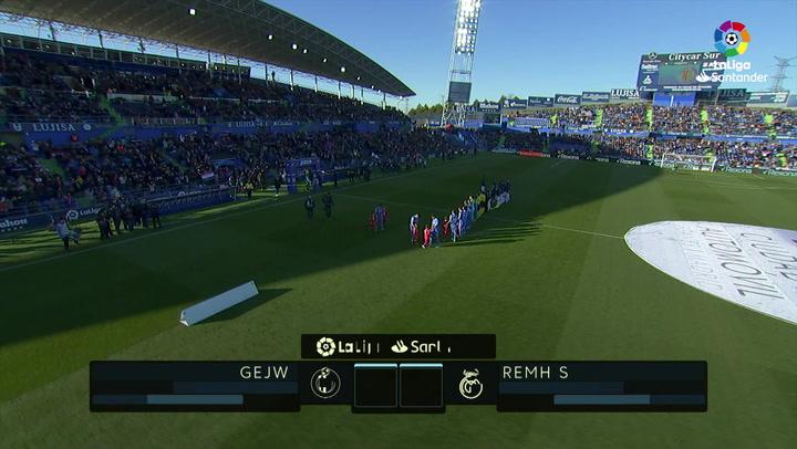 LaLiga (J19): Resumen y goles del Getafe 0-3 Real Madrid