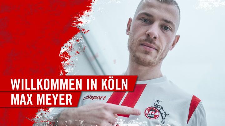 Herzlich Willkommen in Köln, Max Meyer