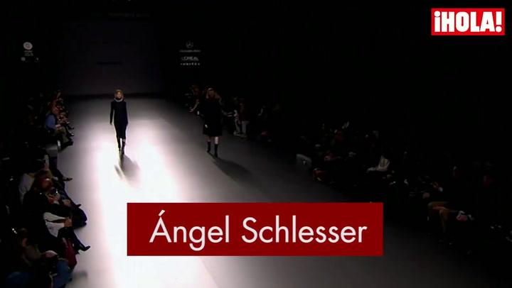 Fashion Week Madrid otoño-Invierno 2015-2016: Ángel Schlesser