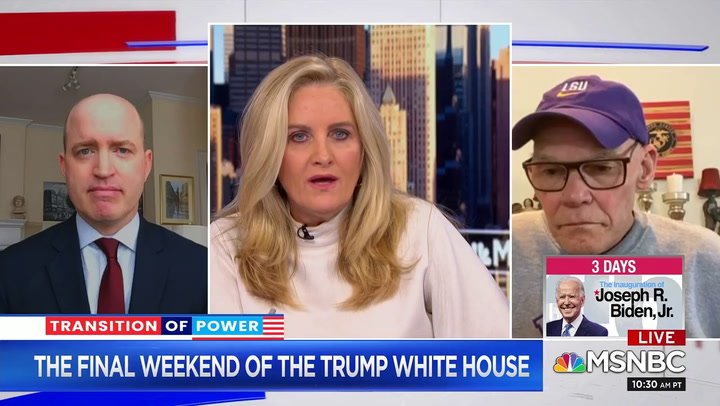Carville: 'Donald Trump in My Opinion Is a Career Criminal' -  'I Hope' the New AG Indicts Him