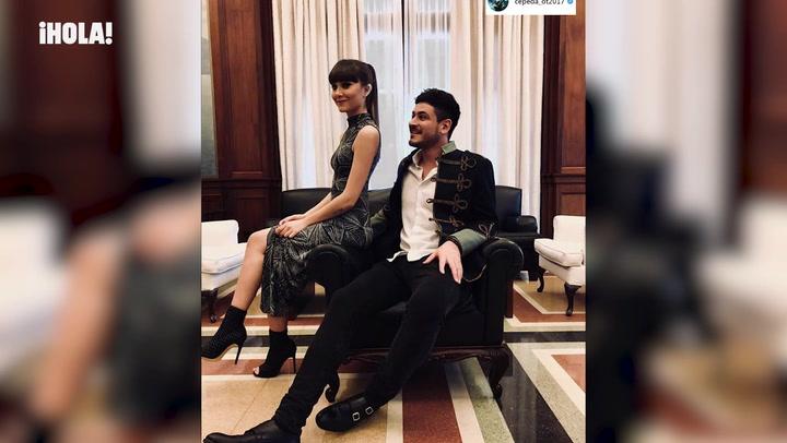Aitana explica cómo está su relación con Vicente mientras Cepeda muestra sus fotos más bonitas