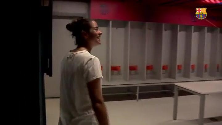 Marta Torrejón, jugadora del Femení A del Barça: