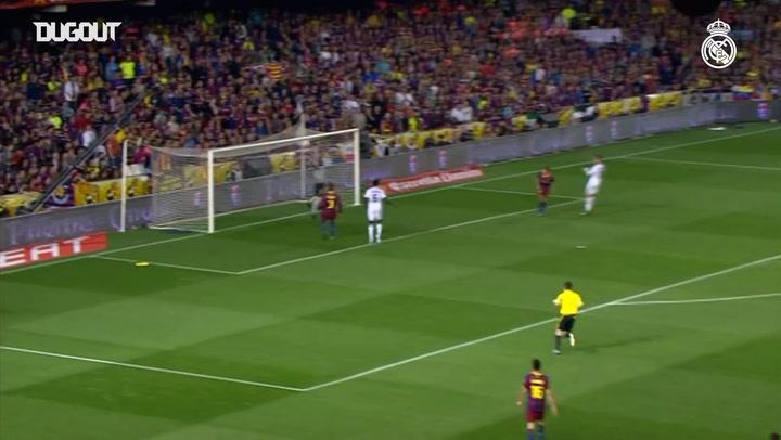 Cristiano Ronaldo's Copa Del Rey Final Header Vs FC Barcelona