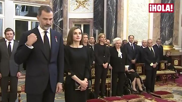 En vídeo: Así fue el reencuentro de los Reyes con la infanta Cristina