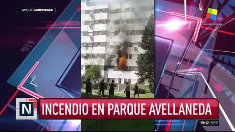 Una pelea de pareja terminó en el incendio de un departamento