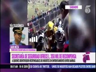 Secretaría de seguridad analiza el cierre del estadio Nacional tras actos vandálicos