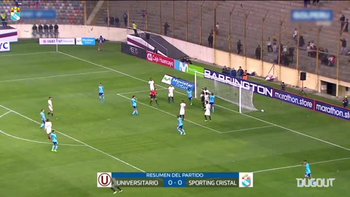 Sporting Cristal versus Universitario ends goalless