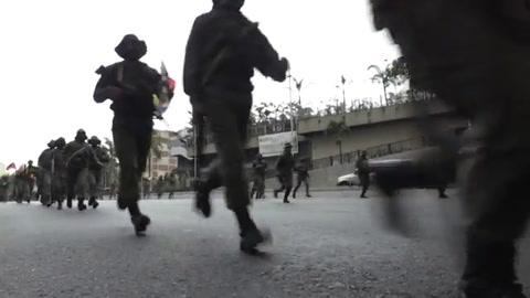 Venezuela inicia ejercicios militares en aniversario de la muerte de Chávez