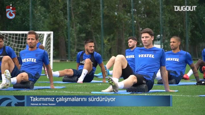 Trabzonspor Hazırlıklarını Sürdürüyor