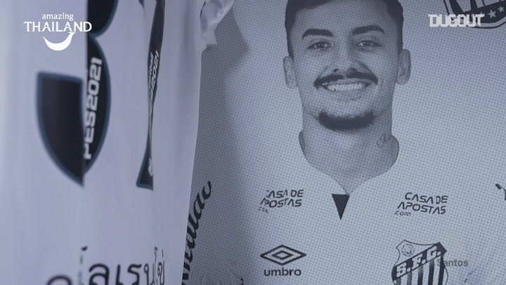 Behind the scenes of Santos' draw vs Fluminense
