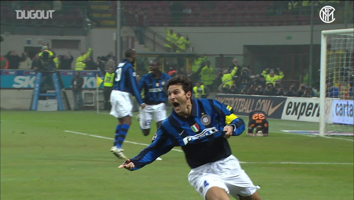 Javier Zanetti's career highlights at Inter