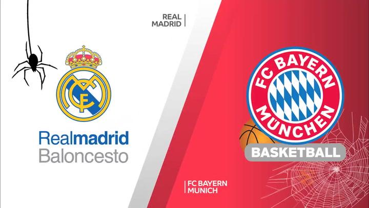 Euroliga: Real Madrid - FC Bayern Munich