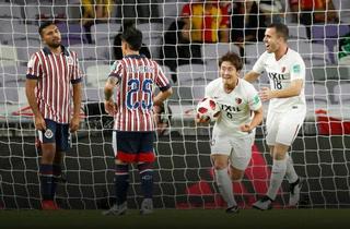 Kashima sorprende a Chivas y será rival de Real Madrid en el Mundial de Clubes
