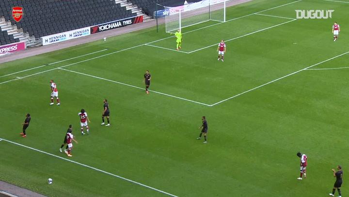 William Saliba makes debut for Arsenal