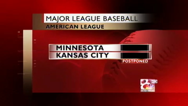Royals and Twins Postpone Matchup