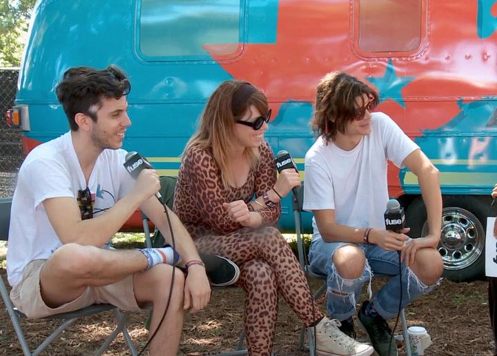 Festivals: Austin City Limits 2013: Grouplove Talk Recording Album in Legendary Yes Guitarist's House