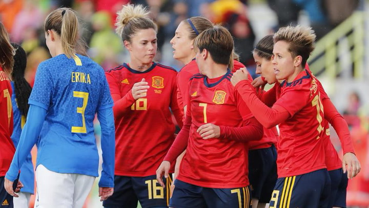 Fútbol femenino: Resumen del España-Brasil  (2-1)