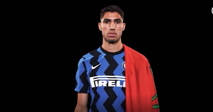 Achraf Hakimi, el nuevo refuerzo del Inter de Milan