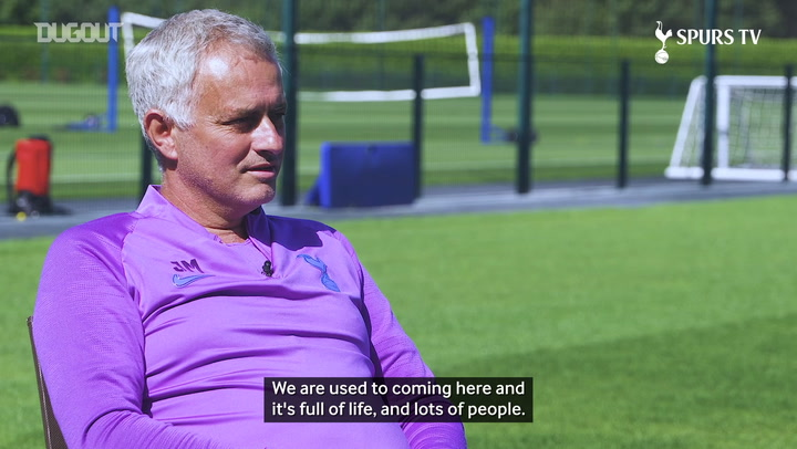 Jose Mourinho discusses his life during lockdown