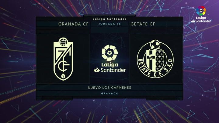 LaLiga (J38): Resumen del Granada 0-0 Getafe