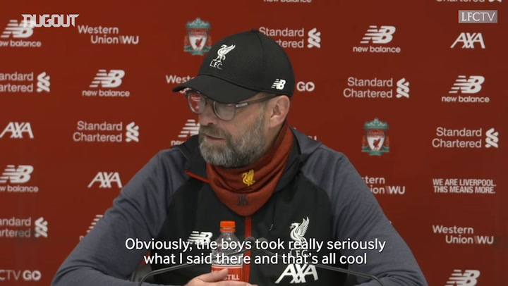 Klopp: I never thought Man City's record winning run would be equalled