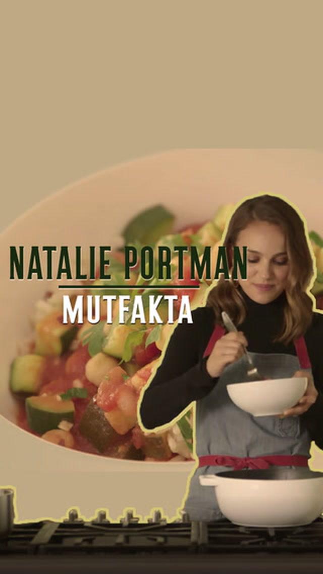 Mutfakta Natalie Portman mı var?