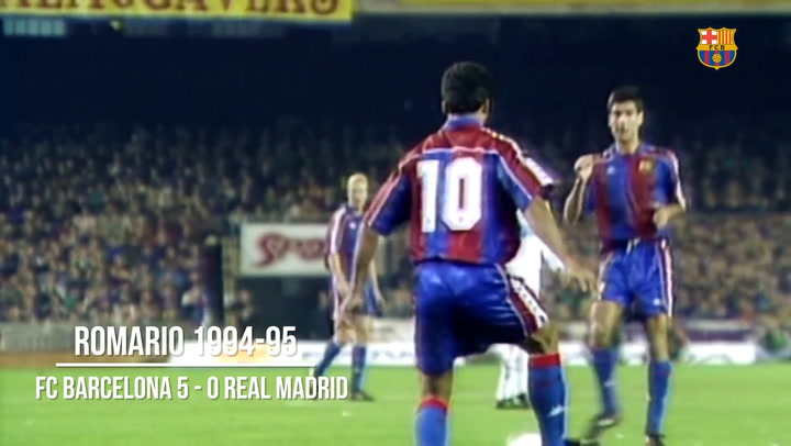 Barça's Top Five Most Historic Goals Vs Real Madrid