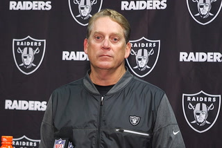Del Rio: Raiders need to get hot in the second half of the season