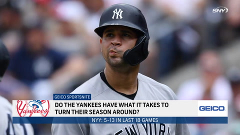 Are Yankees capable of turning their season around?