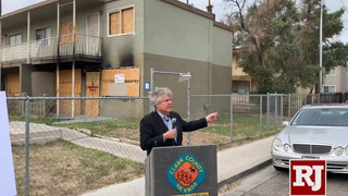Clark County commissioner calls on landlords to bring properties up to code