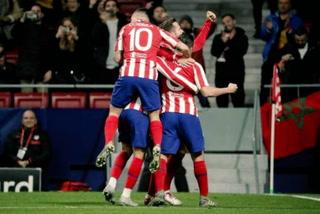 Atlético de Madrid se mete en octavos de Champions derrotando al Lokomotiv