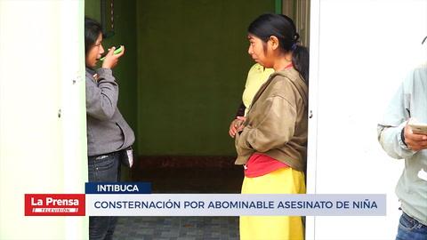 Consternación por abominable asesinato de niña en Intibucá