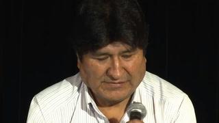 Morales parte de Argentina hacia Venezuela