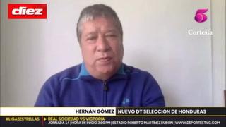 Bolillo Gómez y sus confesiones sobre Honduras: Acepta que siente 'susto' y que le gusta el futbolista casado