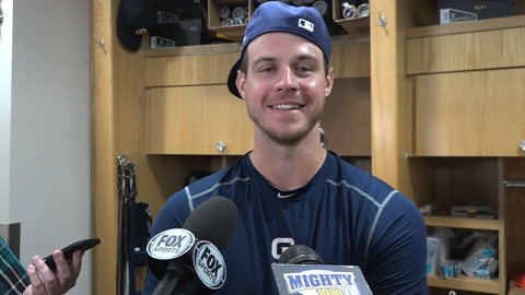 Wil Myers on his Padres debut at third base