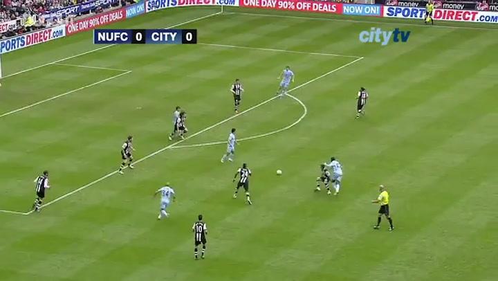 Yaya Toure's brace vs Newcastle edges Man City closer to the title