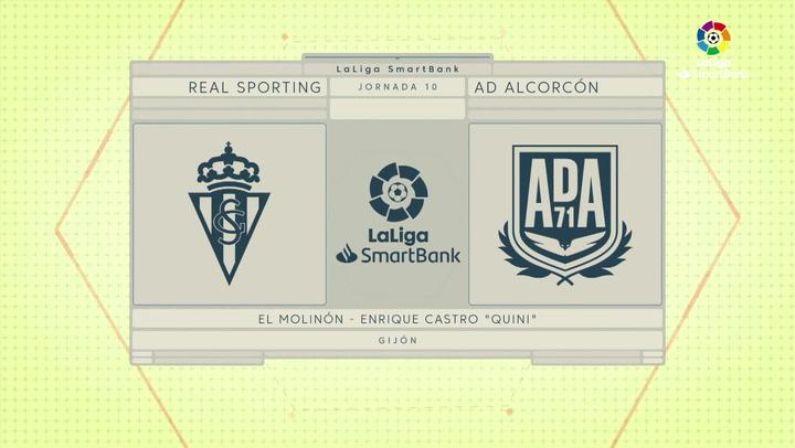 LaLiga Smartbank (Jornada 10): Sporting 1-0 Alcorcón