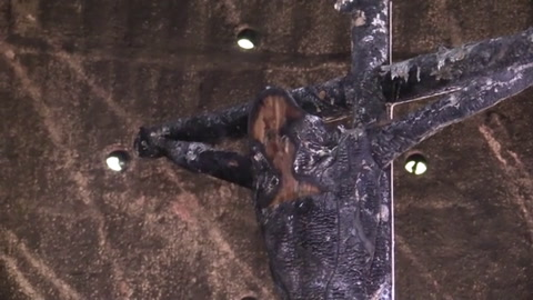 Atentado con bomba molotov daña la catedral de Managua