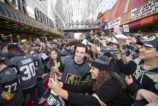 Golden Edge: Golden Knights hold Fan Fest on Fremont