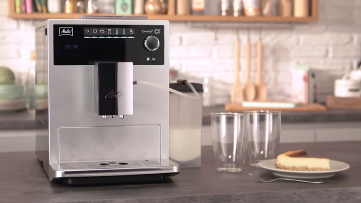 Preview image of Melitta Caffeo CI Fully Automatic Coffee Machine O video